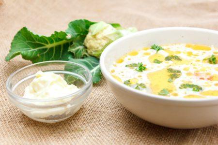 Суп сырно-картофельный